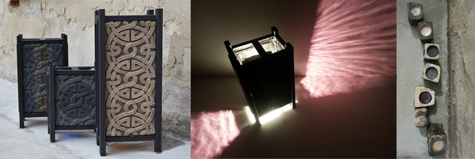 Создание керамических декоративных светильников ручной работы на заказ
